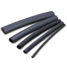 """F4P Dual Wall Adhesive-Liner 1/2"""" - Black"""