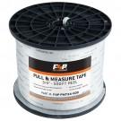 F4P 1/2'' Pull & Measure Tape - 500FT Reel
