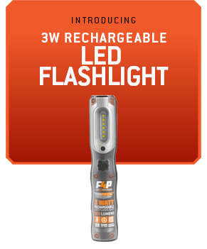 3 Watt Rechargeable Flashlight